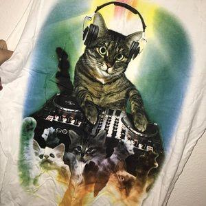 Graphic Cat Tank
